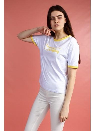 Collezione Tişört Beyaz
